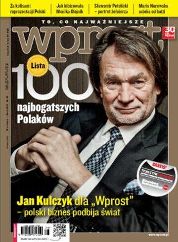Okładka tygodnika WPROST: 26/2012