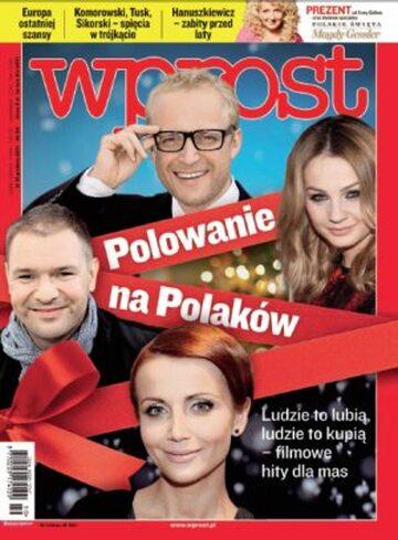 Okładka tygodnika Wprost nr 50/2011 (1505)