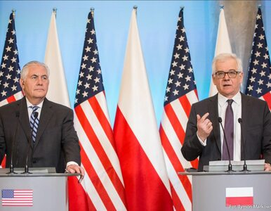 Rex Tillerson: Polska i Stany Zjednoczone są przeciwko Nord Stream 2