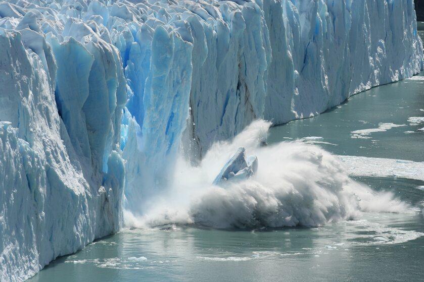 Roztapiający się lodowiec
