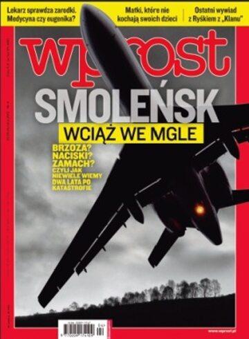Okładka tygodnika WPROST: 4/2012