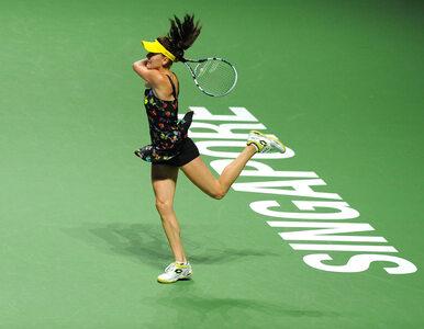 WTA Finals: Radwańska przegrała i... awansowała do półfinału
