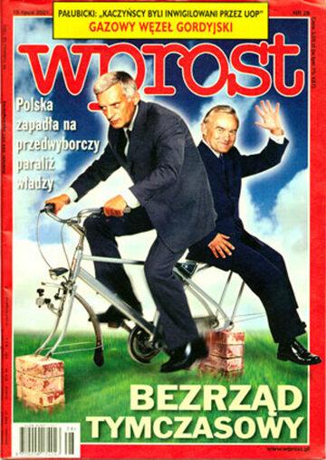 Okładka tygodnika Wprost nr 28/2001 (972)