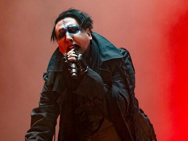 """Marilyn Manson oskarżony o molestowanie i rasizm. """"Pytał, czy będziemy..."""
