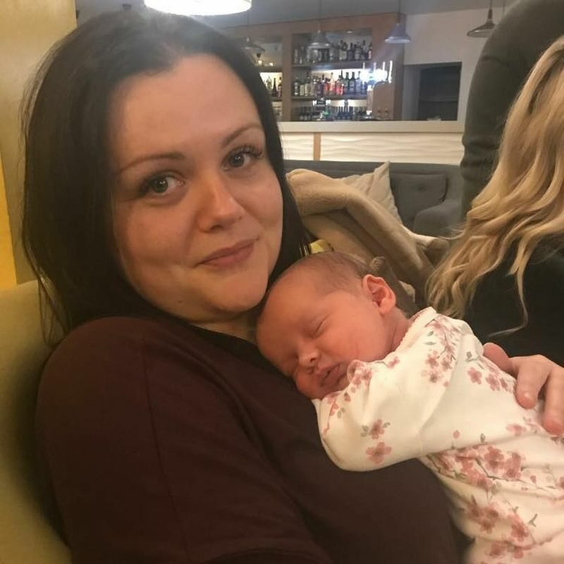Tracey Smith i jej córeczka