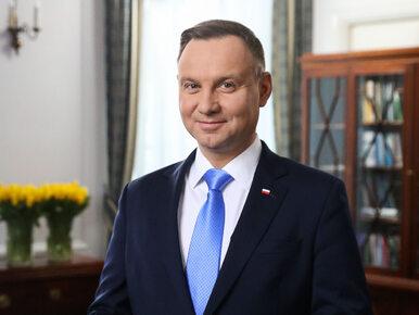 """Andrzej Duda złożył Polkom życzenia z okazji Dnia Kobiet. """"Niech ten..."""