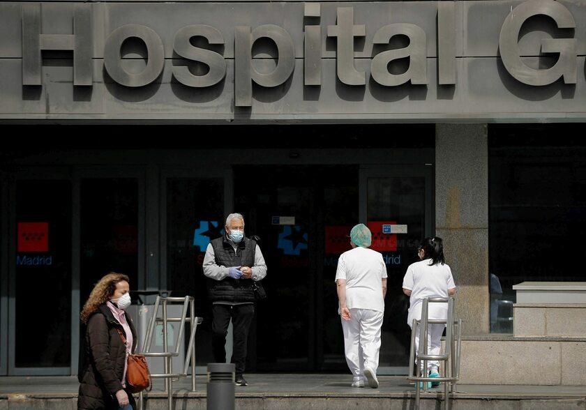 Hiszpania. Szpital w Madrycie