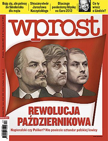 Okładka tygodnika Wprost nr 40/2010 (1443)